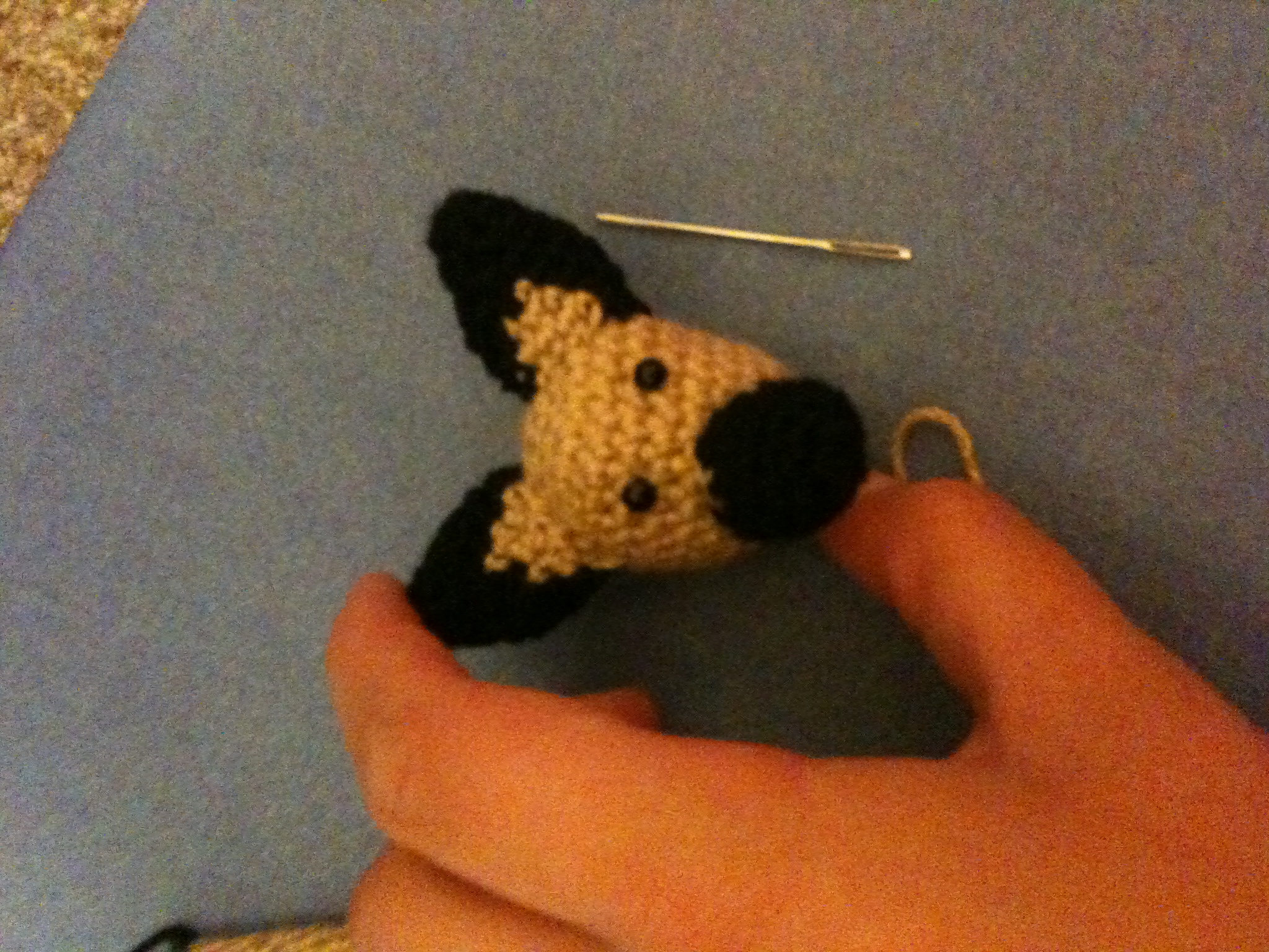 Items similar to Small Crochet German Shepherd Dog Doll ... |Crochet German Shepherd
