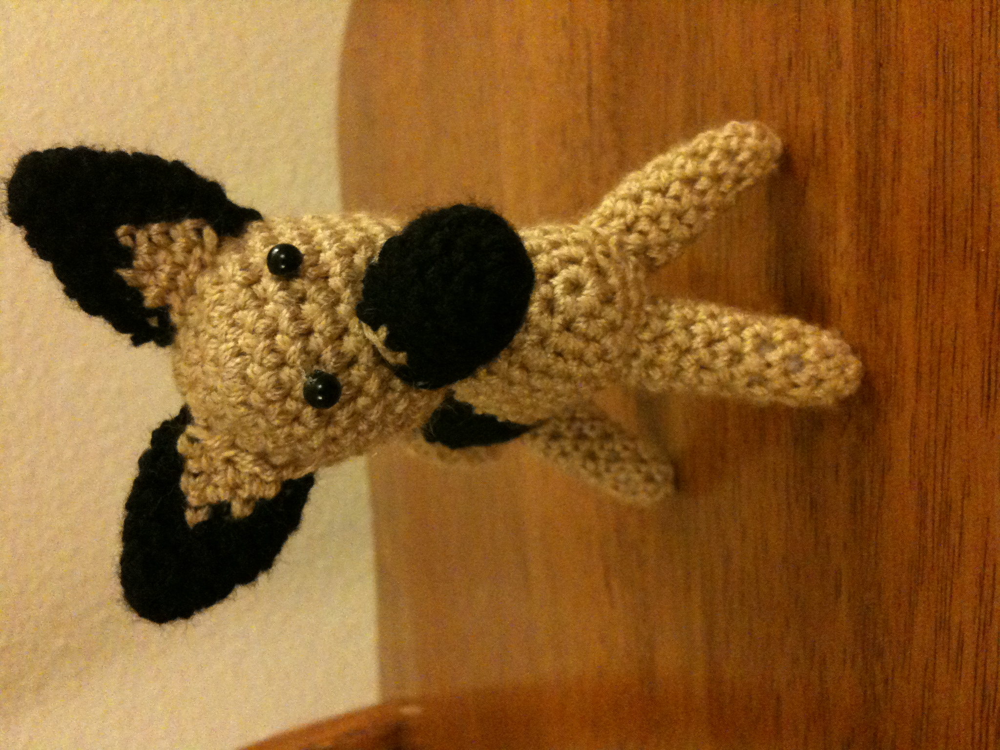 Crochet German Shepherd dog |Crochet German Shepherd